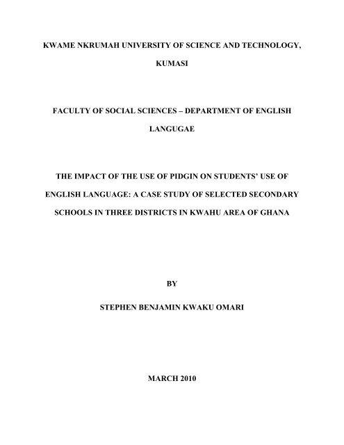 STEPHEN BENJAMIN KWAKU OMARI pdf - Kwame Nkrumah