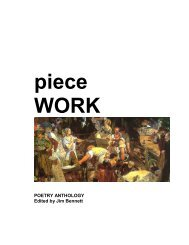 piece WORK - The Poetry Kit