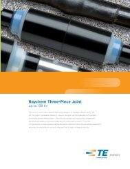 Raychem Three-Piece Joint up to 138 kV - TE Connectivity
