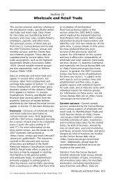 Wholesale and Retail Trade - Census Bureau