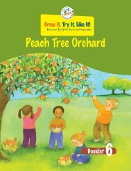 Peach Tree Orchard - Team Nutrition - US Department of Agriculture