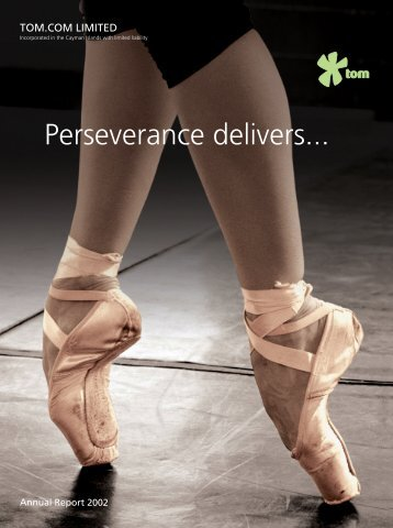 Perseverance delivers... - TOM Group