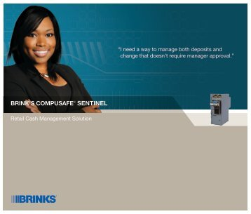 BRINK'S COMPUSAFE® SENTINEL - Brink's US