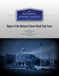 Report of the National School Shield Task Force