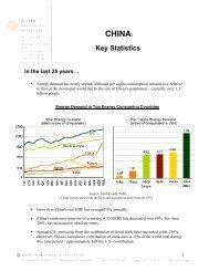 China: Key Statistics - World Resources Institute