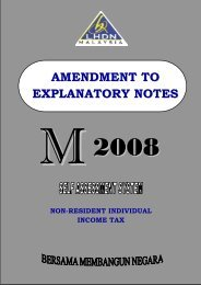AMENDMENT TO EXPLANATORY NOTES