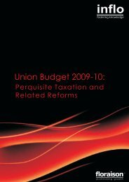 Perquisite Taxation and Related Reforms. Perquisites - Floraison