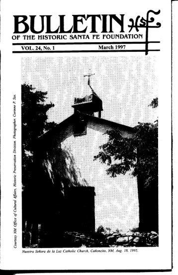 Nuestra Senora de la Luz Church & Cemetery - Historic Santa Fe ...