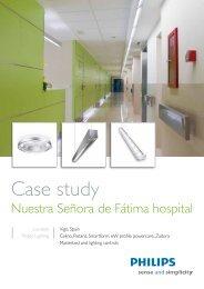 Case study Nuestra Señora de Fátima hospital - Philips Lighting