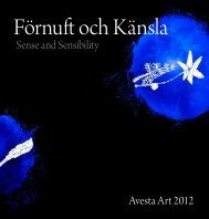 Avesta Art 2012 Sense and Sensibility - Verket