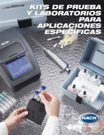 Kits de Prueba y Laboratorios para Aplicaciones Específicas