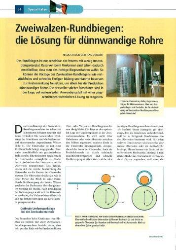 Zweiwalzen Rundbiegen 2003 (PDF, 2311 kb)
