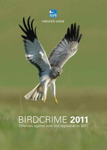 Birdcrime 2011 - RSPB