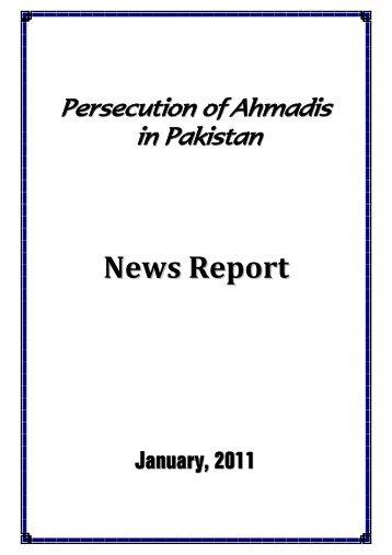 784 KB - The Persecution of Ahmadiyya Muslim Community