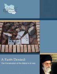 A Faith Denied - Iran Human Rights Documentation Center