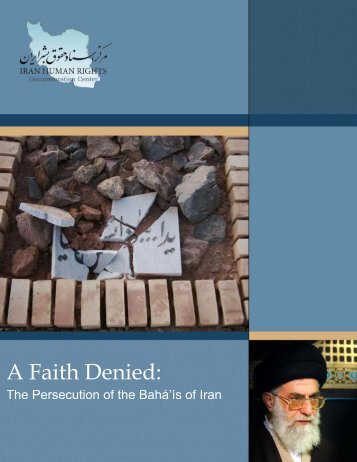 A Faith Denied - Iran Human Rights Documentation Center