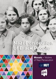 Nazi Persecution of Black People - National Union of Teachers