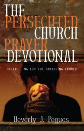 The Persecuted Church Prayer Devotional - Operation World