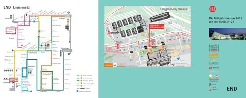 Info-Broschüre Buslinie 122 - SSB