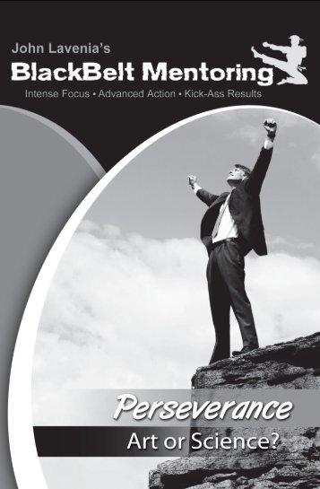 BBM Perseverance Workbook - Bold Statement Marketing