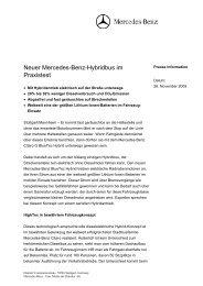 Presseinformation Citaro G bluetec Hybrid - SSB