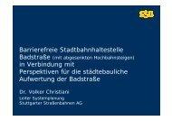 Präsentation zur Beschlussfassung in Gemeinde- und ... - SSB