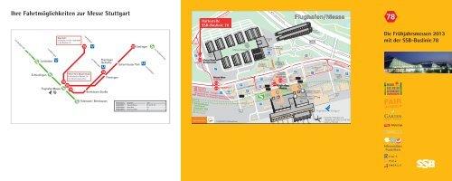 Informations-Broschüre Buslinie 78 - SSB
