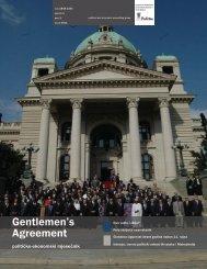 Gentlemen's Agreement 5 (1), rujan 2011. - Politea Think Tank