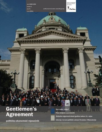 Gentlemen's Agreement 5 (1), rujan 2011. - Politea Think Tank