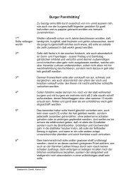 Bürger-Banntaiding von 1699 - Zwettl