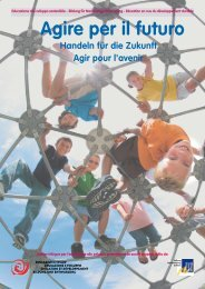 Scarica il primo dossier ESS (PDF, 792Kb) - Stiftung Bildung und ...