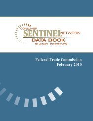 December 2009 - Federal Trade Commission