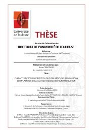 Characterization and selection of globe artichoke and cardoon ...