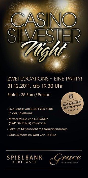 31.12.2011, ab 19.30 Uhr - Spielbank Stuttgart