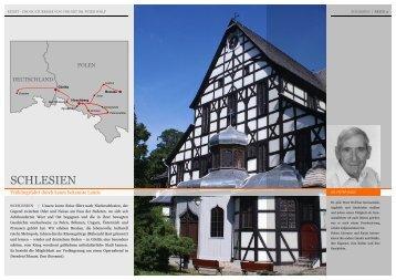 SCHLESIEN - Reisen und Kultur