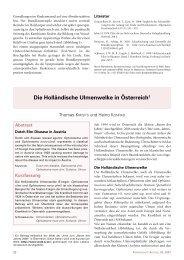 Die Holländische Ulmenwelke in Österreich - BFW