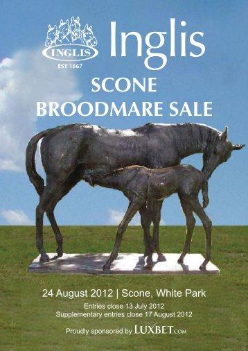 SCONE BROODMARE SALE - Inglis