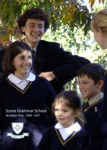 Scone Grammar School Strategic Plan 2008 - 2017