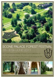 Scone Palace Forest Festival 2011 - Arboricultural Association