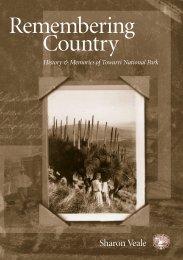 Remembering Country: History & Memories of Towarri National Park ...