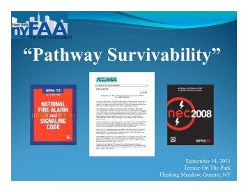 """Pathway Survivability"" - New York Fire Alarm Association"