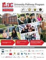 University Pathway Program - Ilac.com