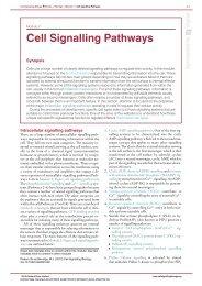 Module 2: Figure cell signalling pathways