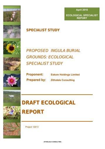 Appendix D5 - Ecology Assessment Report.pdf - Zitholele Consulting