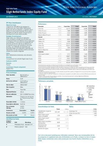 Factsheet - State Street Global Advisors