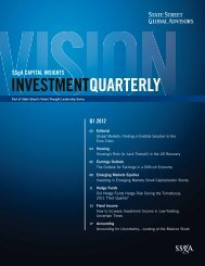 SSgA Investment Quarterly: Q1 2012 - State Street Global Advisors