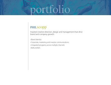 PDF Portfolio - PHIL Scopp: BRANDnew