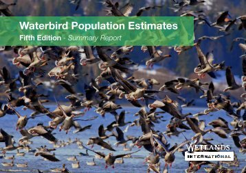 Waterbird Population Estimates Fifth Edition - Wetlands International