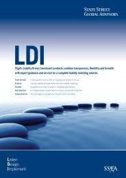 LDI Brochure - State Street Global Advisors