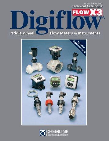 Paddle Wheel Flow Meters & Instruments - Chemline Plastics Limited